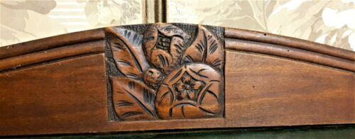 Decorative art deco fruit carving pediment Antique french architectural salvage