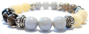 ANTI DEPRESSION 8mm Crystal Intention Bracelet w/Description - Healing Stone