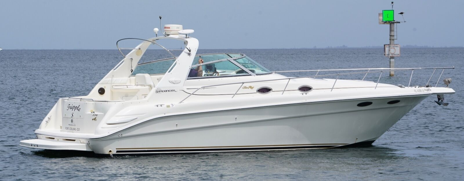 Sea Ray 33 Sundancer Cruiser EXPRESS yacht chaparral BAYLINER NO RESERVE AUCTION