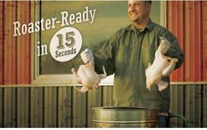 Chicken Plucker -  READY IN 15 SECONDS  - BRAND NEW - FREE SHIPPING