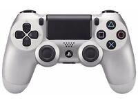 Sony DualShock 4 Wireless Controller - Silver (PS4)