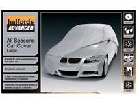 Halfords Advanced All Seasons Waterproof UV Heath Snow Protection Car Cover L