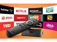Firestick complete with all your live streaming and movie/boxset needs. Brand new.