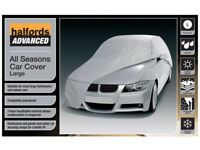 Halfords Advanced All Seasons Waterproof UV Heath Snow Protection Car Cover L