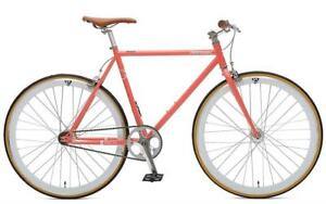 NEW Retrospec Bicycles Mantra V2 Single Speed Fixed Gear Bicycle Condition: New