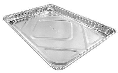 Handi-Foil Half 1/2 Size Sheet Cake Pan - Disposable Aluminum Foil Baking - Half Sheet Pan Size
