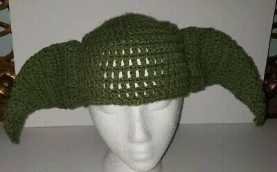YODA STAR WARS green Knit Cap Baby Or Child Size](Yoda Baby)