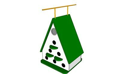 """THE """"A-FRAME"""" -- A CHALET STYLE BIRD HOUSE (Plans Only)"""