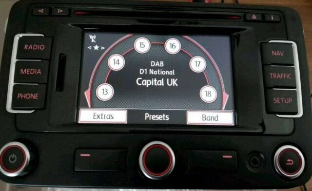 VW RNS-315 + CODE - Sat Nav Bluetooth DAB Stereo Head Unit + EXCELLENT  CONDITION - £275 | in Bradford, West Yorkshire | Gumtree
