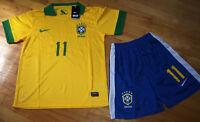 Jersey soccer (Chandail) avec Short BRESIL 2014 - OSCAR