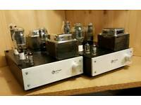 World Audio Design WAD 300B PSE Monoblock Valve Amlpifiers.