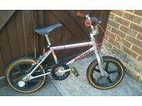 RALEIGH BURNER MINI BMX BIKE