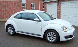 Volkswagen Beetle 1.2 TSi 105bhp 6-Speed hatchback in Candy White . 2013. Lady owner since new.
