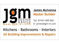JGM Builders Bathrooms Alterations Roof Conversions Belfast Bangor Finaghy Holywood Donaghadee