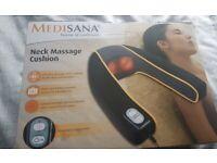Neck Massage Cushion.2 Vibrating massage settings for neck,shoulders. Mains. Red light,heat