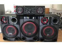 LG 2750W Hi-fi/DJ/Karaoke System