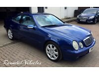 STUNNING and beautifully restored TOP spec Merc CLK Avantgarde Sport 3.2 V6, 2 owner FSH 12 mth mot