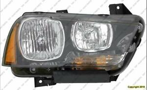 Head Lamp Passenger Side Halogen High Quality Dodge Charger 2011-2014