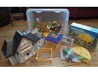 Playmobil Summer Fun 5435 and Playmobil Vet Clinic