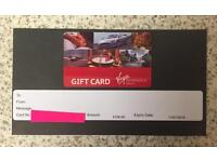 Virgin Experience Gift Card Worth £100 Face Value