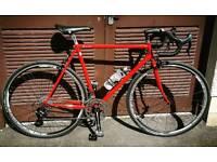 Custom Built Touring Bike - Campagnolo Athena 11Spd (22 gears) Groupset, Columbus Cromor Steel Frame