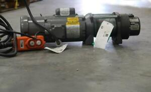 COLUMBIA Winch & Hoist  W/ Motor