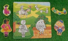 Nursery Rhyme Matching Pictures