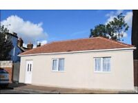 One bedroom bungalow with a lovely garden