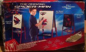 Spider-Man Easel/Chalkboard