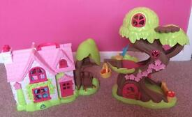 Early learning centre - Happyland Cherry Lane Cottage and fairy treehouse