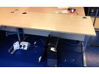 office rectangle desk
