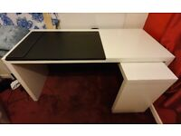 Ikea Desk + Free Desk mat