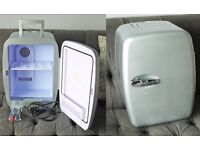 14 Litre Portable Fridge, Medium/Large + Cold & Hot settings with all Cabels