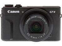 wanted Canon G7X mark ii