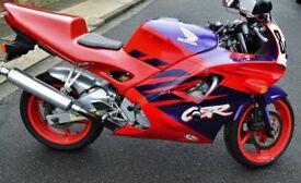 honda cbr 600 f2 track or road bike