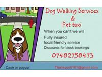 Dog Walker Pet Taxi Service