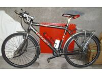 Trek 6000 Multi - terrain bicycle. Grey and Red.