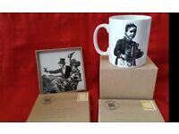 New bone china mug and coaster set