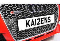 KA12ENS KARENS KAREN One off Cherished Personalised Number Plate AUDI GOLF MERCEDES LEXUS PORSCHE