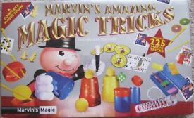 Marvin's Amazing Magic Tricks, includes 225 magic tricks, boxed like NEW.