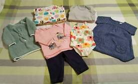 Next baby girl clothes bundle 3-6 months