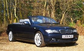 BMW 3 Series 2.0 320Cd SE 2dr JUST SERVICED | FREE WARRANTY 2006 (06 reg), Convertible Diesel
