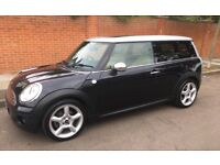 2008 MINI COOPER CLUBMAN WITH EVERY POSSIBLE EXTRA PANORAMIC ELECTRIC ROOF HEATED LEATHER SEATS MINI