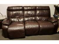 3 seater electric recliner sofa and chair