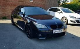 BMW E60 525D LCI 2007 Carbon Black