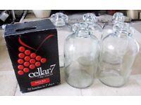 5 DEMIJOHNS 30 BOTTLE WINE/BEER MAKING KIT/FERMENTATION BIN - Italian Red in 7 days (Selling more)