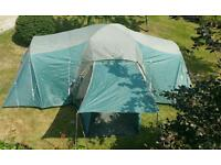 Wynnster Hawk 8 man Tent (built in ground sheet) looking for a larger tent