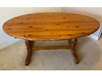 Solid Antique Pine Kitchen/Dining Table