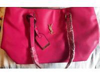 Brand new pink ysl handbag