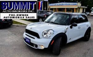 2011 MINI Cooper S Countryman AWD | CAR-PROOF CLEAN | PANO ROOF